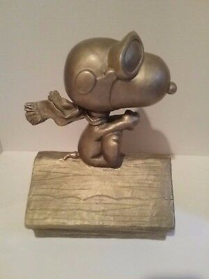 Snoopy Flying Ace Red Baron AUSTIN Sculpture - Statue Peanuts 2000