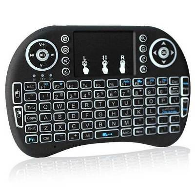 Backlit Mini i8 2.4GHz Wireless Handheld Keyboard Touchpad for TV Box Android PC