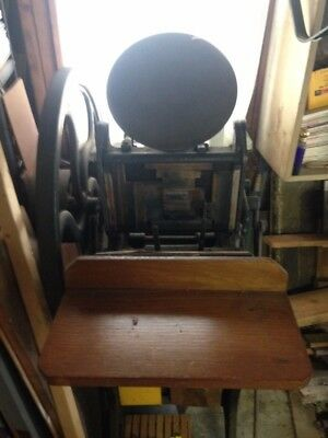 Golding & Co Foot Powered Printing Press 6 x 10 Chasis