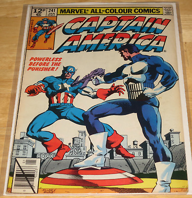 Marvel Comics CAPTAIN AMERICA #241 January 1980 THE PUNISHER