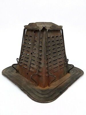 Antique Cook Stove Toaster Old Vintage Cabin Decor Camp Fire 4 Slice