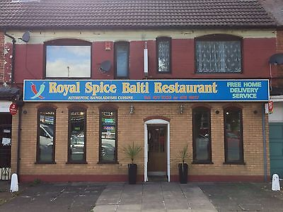 Bengali Indian 52 Seats Restaurant Take Away Business In Birmingham For Sale!