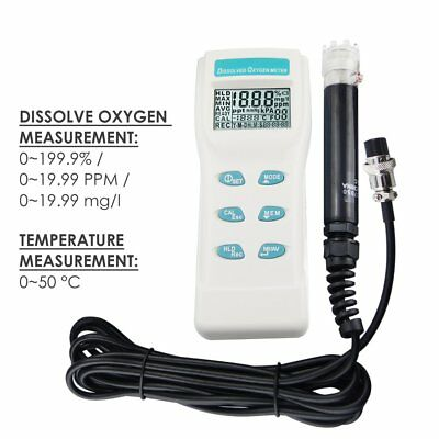 8403 Professional Dissolved Oxygen DO Meter Water Quality Tester
