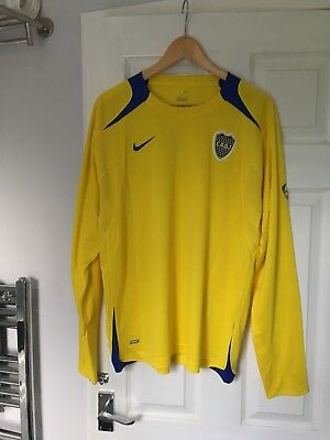 rare CABJ BOCA JUNIORS Football Shirt