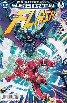 Flash #21 - First Print - Part 2 of The Button - Porter Variant Cover