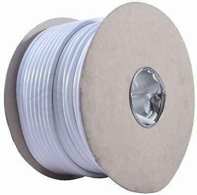 3183Y 13 AMP Electrical Cable White Round Mains Wire Flex 1.5mm 240V 3 Core