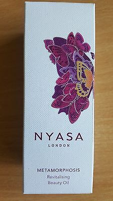 NYASA Metamorphosis revitalising beauty oil BNIB 30ml