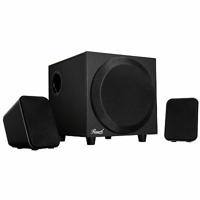 Rosewill 2.1 Multimedia Speaker System for Gaming, Music, and Movies BA-001