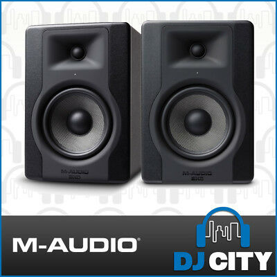 M-Audio BX5 Powered 5 Inch Studio Monitors Active Reference Speaker Pair