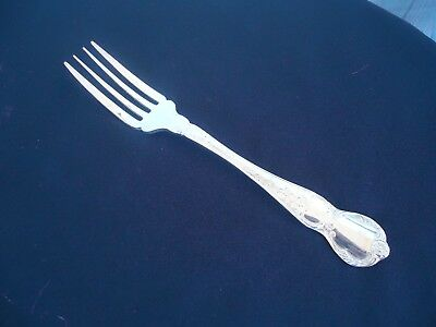 vintage rodd camille silver plate cake sweet fork