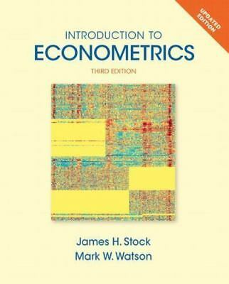 Introduction to Econometrics Update 3e Global Edition