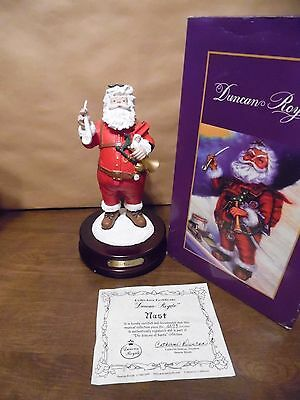 """Nast * Duncan Royale * NAST with Pipe * Musical COA 11"""" - MIB"""