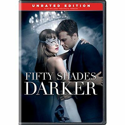 Fifty 50 Shades Darker Dvd + Digital Hd Unrated Edition Movie Best Sealed