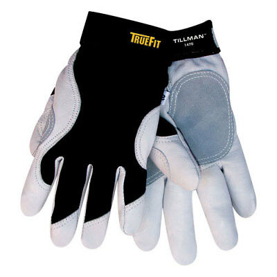 TILLMAN 1470 TrueFit Performance Goatskin MultiTask Work Gloves M XL Top Grain