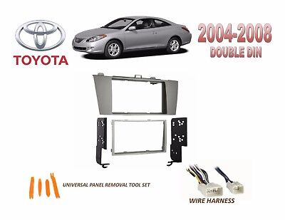 2004-2008 TOYOTA CAMRY SOLARA DASH INSTALL KIT for CAR STEREO, with on 2008 honda element stereo, 2008 jeep compass stereo, 2008 mazda 6i stereo, 2005 toyota camry stereo, 1996 toyota camry stereo, 2006 toyota camry stereo, 1998 toyota camry stereo, 1994 toyota camry stereo, 2007 toyota camry stereo, 2008 honda fit stereo, 2000 toyota tundra stereo, 2000 toyota camry stereo, 2008 mazda miata stereo, 2008 pontiac g6 stereo, 2004 toyota camry stereo, 2008 nissan xterra stereo, 2008 saab 9-3 stereo, 1999 toyota camry stereo, 2001 toyota camry stereo, 2008 dodge avenger stereo,