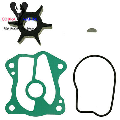 New Water Pump Impeller Service Kit for Honda BF20A BF25D BF30D 06192-ZV7-000