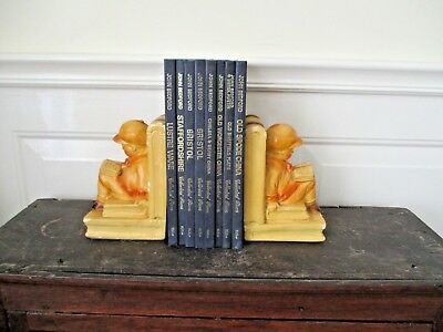 Old Collectable  Antique Vintage Art Deco  Bookends  FREEPOST