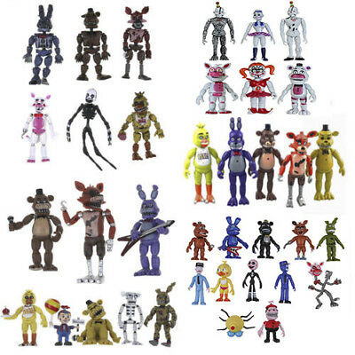 Five Nights at Freddys Nightmare Set of Action Figures Xmas Gift Collectible