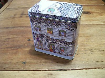 """TIN  - HOLIDAY HOUSE Box - """"Getting Ready for the HOLIDAYS"""" 4"""" x 6"""" -"""