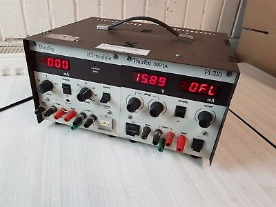Thurlby Thandar Instruments TTI  PL310 30V-1A  Bench Power Supply and K1 Module