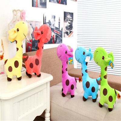 Soft 18cm Children Baby Kids Giraffe Plush Toy Animal Doll Deer Stylish Gift