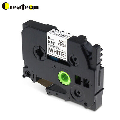 TZe221 TZ221 Label Tape Cartridge Compatible for Brother P-Touch 9mm Cassette