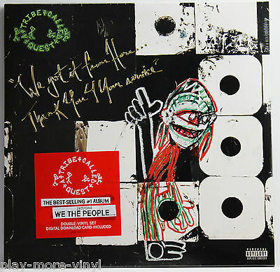 A TRIBE CALLED QUEST We Got It From Here 2LP vinyl Eur 2016  Mint/Sealed!