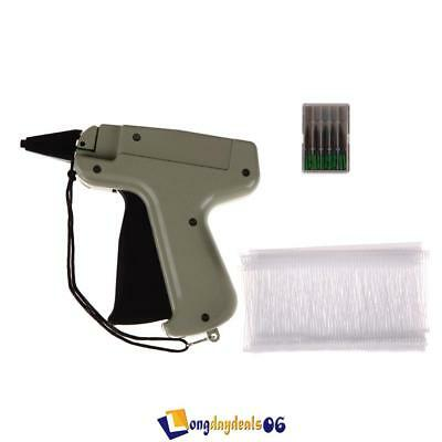 "Regular Clothes Garment Price Label Tagging Tag Gun W/ 3""1000 Barbs +5 Needles"