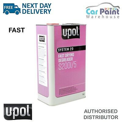 U-POL System 20 Fast Panel Wipe & Degreaser 5L UPOL Panelwipe 2001