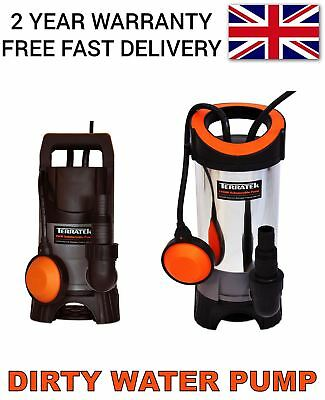 Heavy Duty Electric Submersible Water Pump For Clean Or Dirty Water 400W/1100W