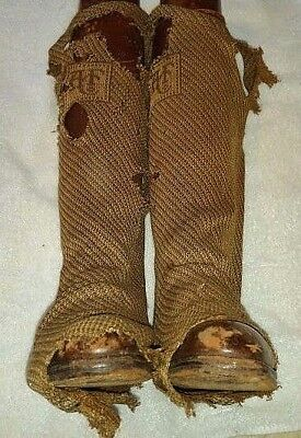 Rare English Abercrombie & Fitch Vintage Boots Riding w/ Stockings NO TREES
