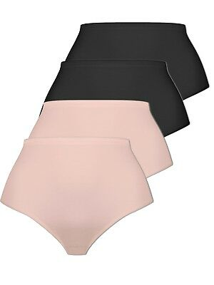Pack of 4 Women's Brief Knickers with Micromodal 2242 Naturana M-4XL Div Colours