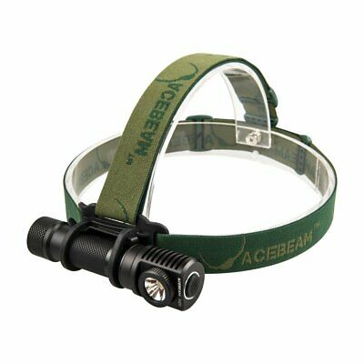 Acebeam H20 LED Headlamp - Black | Tactical Military Head Torch