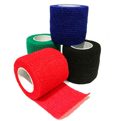 Cohesive Elastic Bandage, Sport, Equestrian,Tattoo & Veterinary. 4 Colours