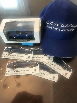 Owners package - Porsche GTS Club Coupe Exclusive 60 years Limited # 222/1955