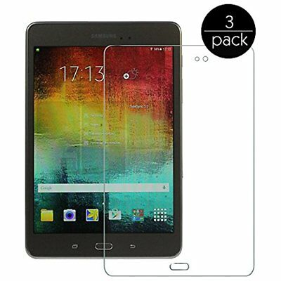 "Samsung Galaxy Tab A 8.0 Clear Hd Screen Protector Sm T350 8"" Tablet Case Pack"