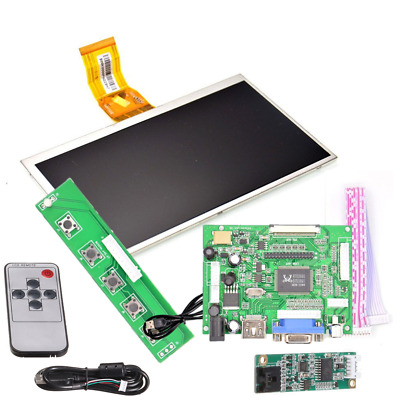 7inch 1024x600 HDMI Touch Screen LCD Display Driver Board Monitor Raspberry Pi 3