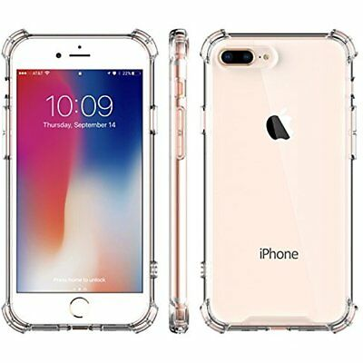 Iphone 8 Plus Case Clear Cover Shockproof Tpu Bumpe Transparency Shell 7