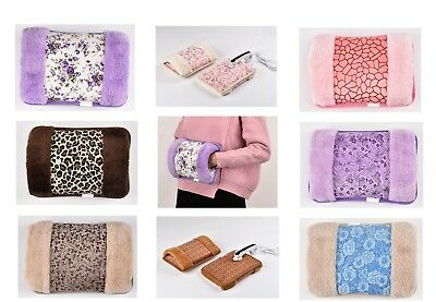 Rechargeable Electric Hot Water Bottle Hand Warmer Heat Pad-UK Seller
