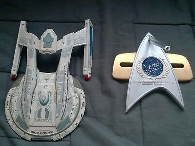 STAR TREK - Akira-Klasse - USS Thunderchild 1:1400 ! Resin ! TOP Gebaut ! RAR !