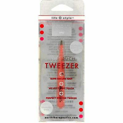 Earth Therapeutics Softouch Tweezer Pink - 1 Unit 3 Pack