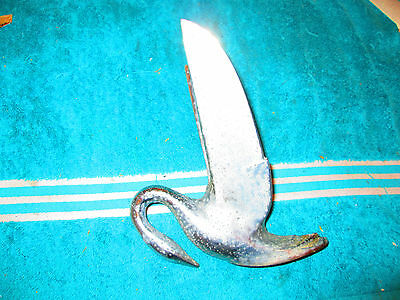 Swan Hood Ornament Duck Old Antique Vintage Rat Rod Hot Rod