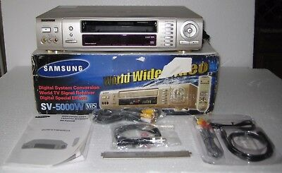 Samsung SV-5000W World Wide Video VCR parts