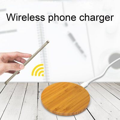 Nillkin Bamboo Wireless Charger Charging QI Standard for iPhone X/8 Lot SN