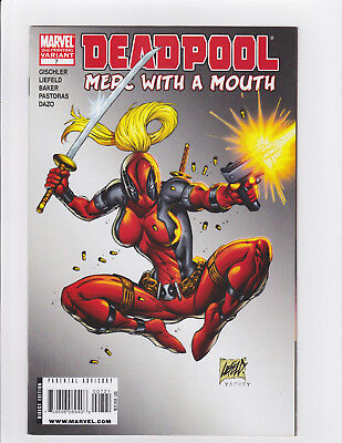 Merc with a Mouth #7 (2010, Marvel) 9.0+ 2nd Print Variant 1st App Lady Deadpool