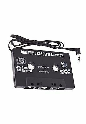 BLACK IN CAR CASSETTE TAPE ADAPTER FOR MP3 IP hone od NANO CD CASSETE NEW