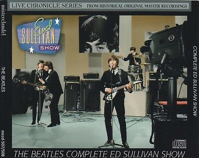 Beatles, The - Complete Ed Sullivan Show (Misterclaudel) [SBD] 2 cds