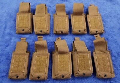 *NOS* (Set-10) USMC Coyote Speed Reload 223 Mag Pouch 3062 Mil Surplus