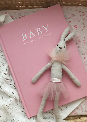 NEW - Write to Me - Baby Journal in Limited Edition Pink