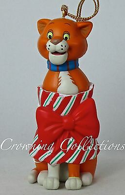 Grolier Thomas O'Malley The Aristocats Disney Ornament Christmas Cat Omalley DCO